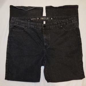 Jennifer Lopez | PLUS bootcut leg jeans
